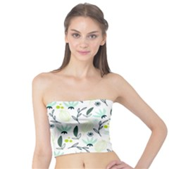 Hand drawm seamless floral pattern Tube Top