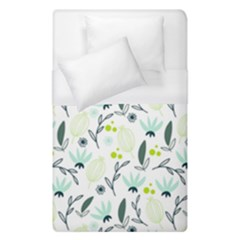 Hand drawm seamless floral pattern Duvet Cover (Single Size)