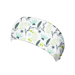 Hand drawm seamless floral pattern Yoga Headband