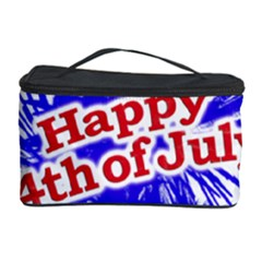Happy 4th Of July Graphic Logo Cosmetic Storage Case