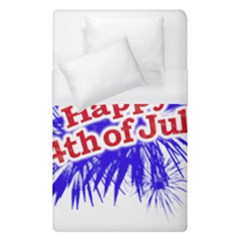 Happy 4th Of July Graphic Logo Duvet Cover (Single Size)