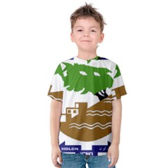 Coat of Arms of Holon  Kids  Cotton Tee