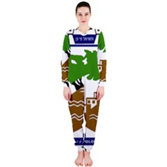 Coat of Arms of Holon  OnePiece Jumpsuit (Ladies)