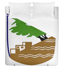 Coat of Arms of Holon  Duvet Cover (Queen Size)
