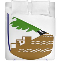 Coat of Arms of Holon  Duvet Cover (California King Size)
