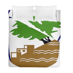 Coat of Arms of Holon  Duvet Cover Double Side (Full/ Double Size)