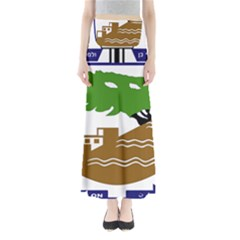 Coat of Arms of Holon  Maxi Skirts