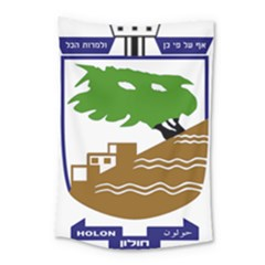 Coat of Arms of Holon  Small Tapestry