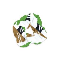 Coat of Arms of Holon  Velvet Scrunchie