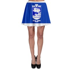 Flag of Holon  Skater Skirt