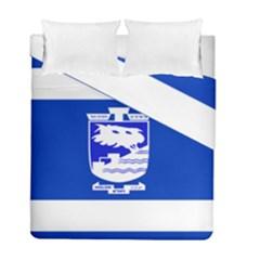 Flag of Holon  Duvet Cover Double Side (Full/ Double Size)