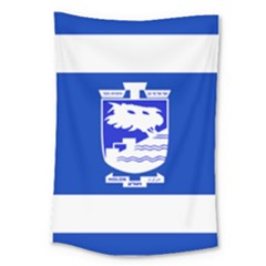 Flag of Holon  Large Tapestry