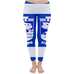 Flag of Holon  Classic Winter Leggings