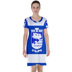 Flag of Holon  Short Sleeve Nightdress