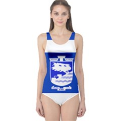 Flag of Holon  One Piece Swimsuit