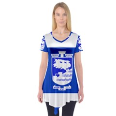 Flag of Holon  Short Sleeve Tunic