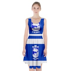 Flag of Holon  Racerback Midi Dress