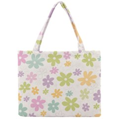 Beautiful spring flowers background Mini Tote Bag
