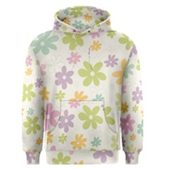 Beautiful spring flowers background Men s Pullover Hoodie
