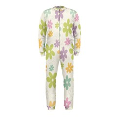 Beautiful spring flowers background OnePiece Jumpsuit (Kids)