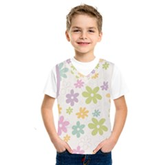 Beautiful spring flowers background Kids  SportsWear