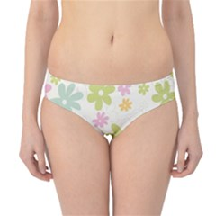Beautiful spring flowers background Hipster Bikini Bottoms