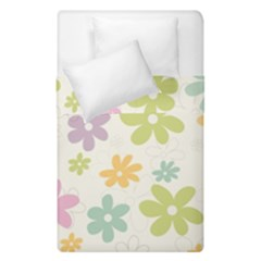 Beautiful spring flowers background Duvet Cover Double Side (Single Size)