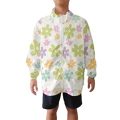 Beautiful spring flowers background Wind Breaker (Kids)