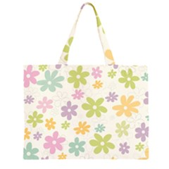 Beautiful spring flowers background Large Tote Bag
