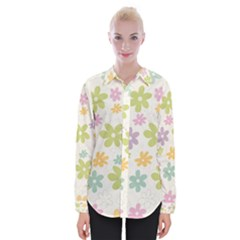Beautiful spring flowers background Shirts