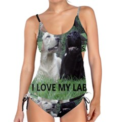 I Love My Labs W Pic Tankini