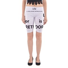 L Is For Lab Yoga Cropped Leggings