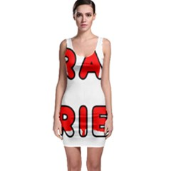Lab Canadian Flag In Name Sleeveless Bodycon Dress