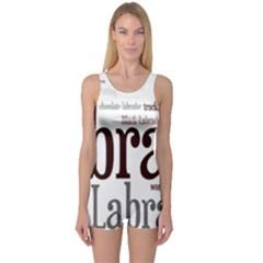 Lab Mashup One Piece Boyleg Swimsuit