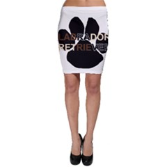 Lab Name Mega Paw Bodycon Skirt