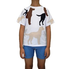 Lab Silos Kids  Short Sleeve Swimwear