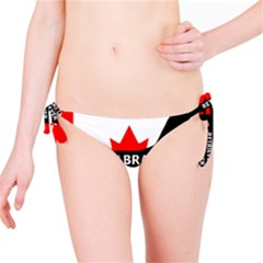 Labrador Retriever Name Silo Canadian Flag Bikini Bottom
