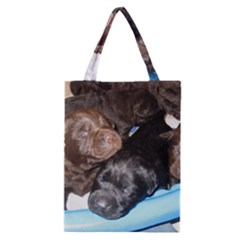 Litter Of Lab Pups Classic Tote Bag
