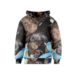 Litter Of Lab Pups Kids  Pullover Hoodie
