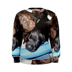 Litter Of Lab Pups Women s Sweatshirt