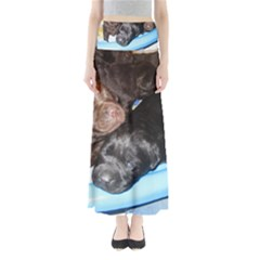 Litter Of Lab Pups Maxi Skirts
