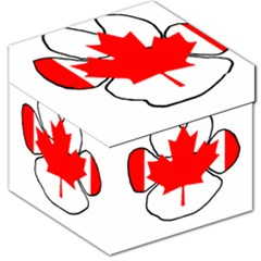 Mega Paw Canadian Flag Storage Stool 12