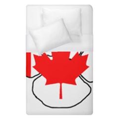 Mega Paw Canadian Flag Duvet Cover (Single Size)