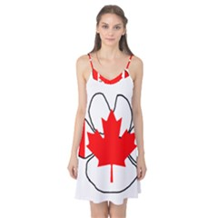 Mega Paw Canadian Flag Camis Nightgown