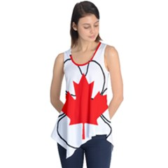 Mega Paw Canadian Flag Sleeveless Tunic