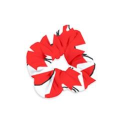 Mega Paw Canadian Flag Velvet Scrunchie