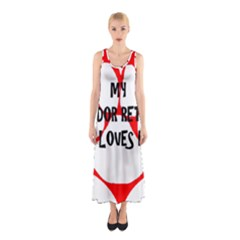 My Lab Loves Me Sleeveless Maxi Dress