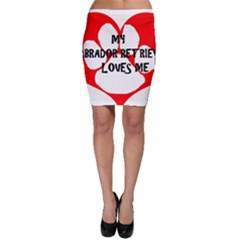 My Lab Loves Me Bodycon Skirt
