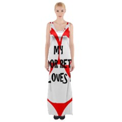 My Lab Loves Me Maxi Thigh Split Dress