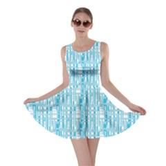 Geometric Pattern 194 V3 170321 Skater Dress